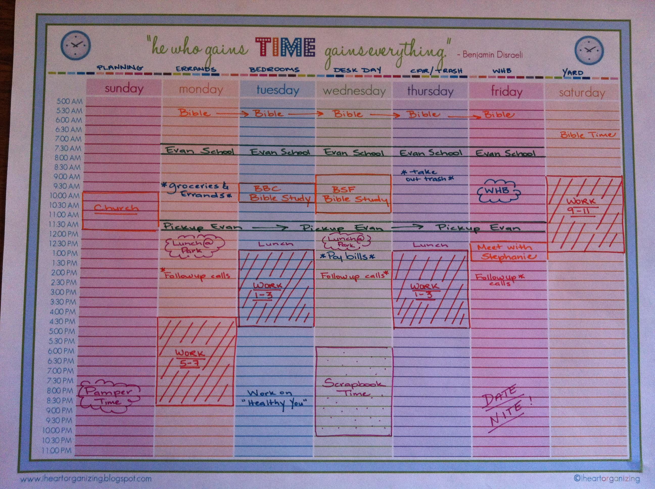 time management  u2013 happyhomehabits